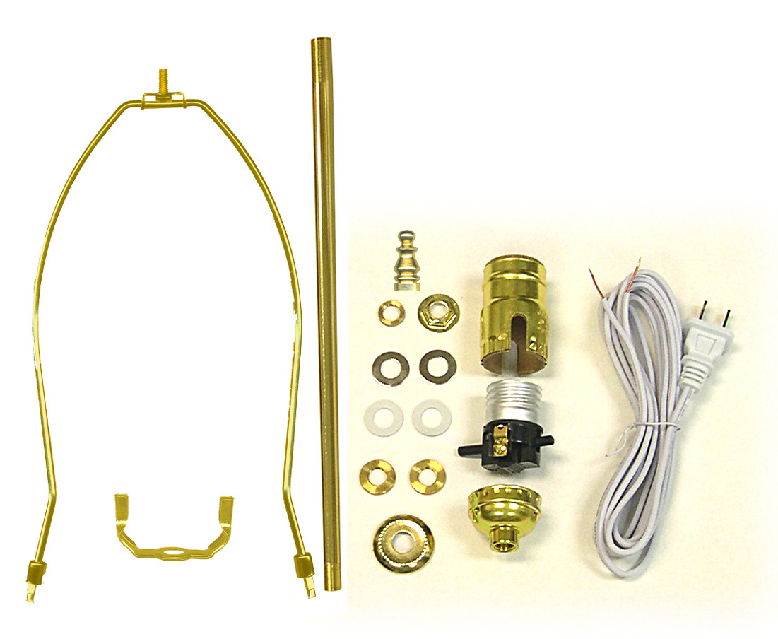 Lamp Making Kits With Straight Pipe
