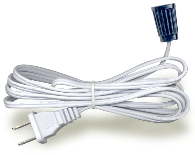 Lamp Cord Sets With Socket And Molded Plug National Artcraft