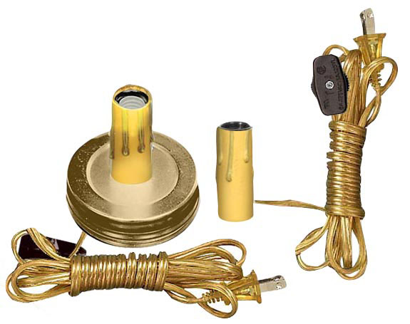 Lamp Making And Lighting Kits With Candelabra Style