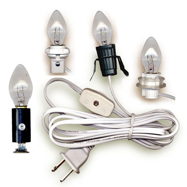 Lamp Cord Sets with Candelabra Base LIGHT BULB - National ...