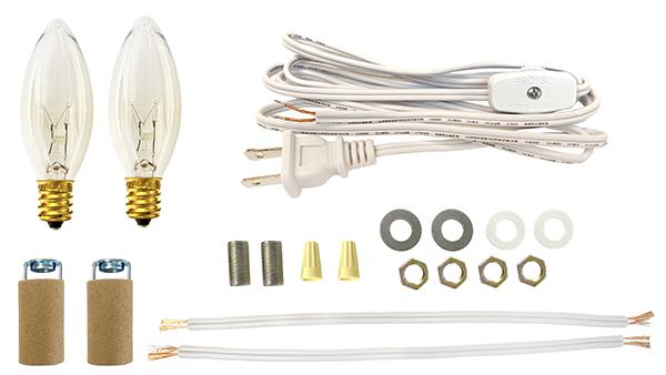 Lamp Making Amp Lighting Kits For Ceramic Wreaths National