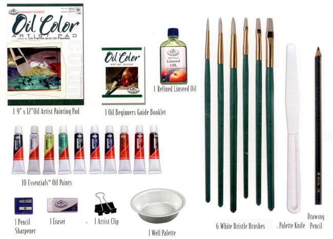 Oil Colors Drawing Oil Color Studio Artist Set