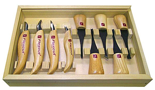 wood carving knife set