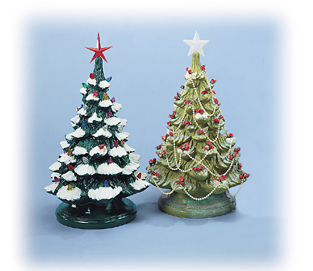 National Artcraft Ceramic Christmas Tree Lights Bulbs Ornaments
