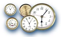 Clock movements hands and dials insert clocks tide for Clock mechanisms for craft projects