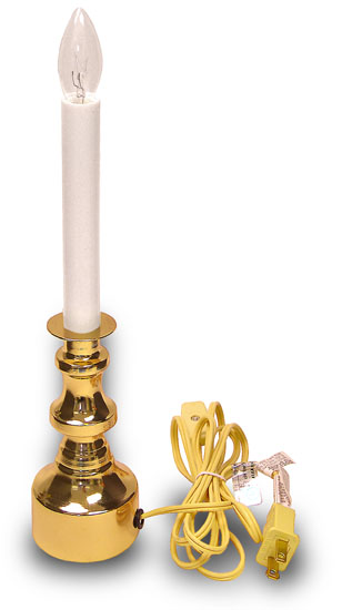 (A) Welcome Light, Tall Brass Color Base$9.25 U0026 Up. Welcome Light Electric  Candle ...
