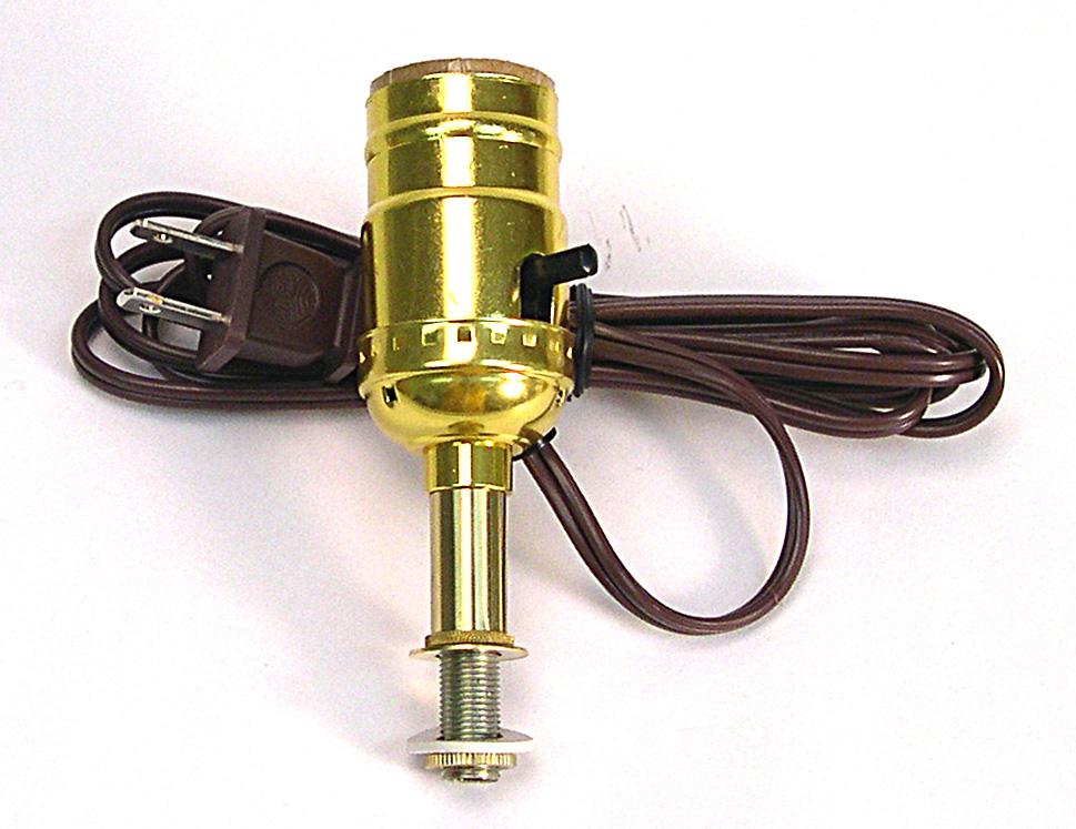 (C) Basket Lamp Making Kit With 6u0027 Brown Cord$6.60 U0026 Up