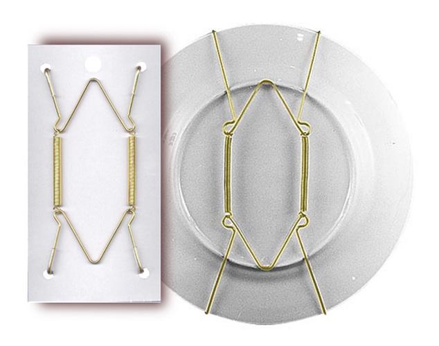 Adjustable Plate Hanger for 5\  - 7\  Plates$2.10 \u0026 up  sc 1 st  National Artcraft & Plate Display Hangers Adjustable Spring-Tension Wire - National ...
