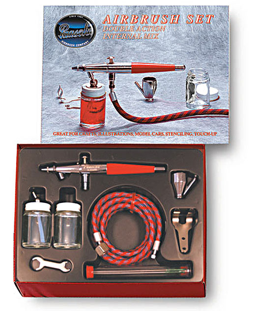 paasche ez starter airbrush set instructions