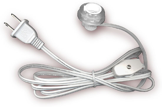 Amazing National Artcraft Lamp Cord Sets With Socket Switch And Molded Plug Wiring Cloud Intapioscosaoduqqnet