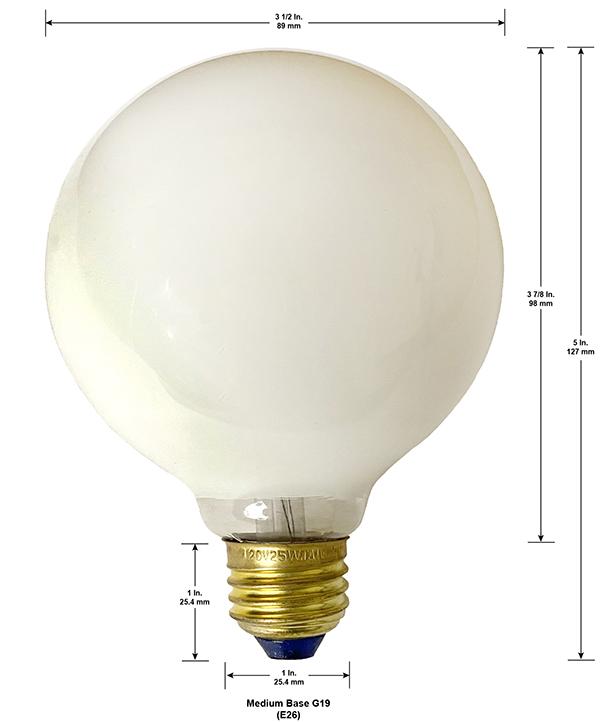 National Artcraft Light Bulbs Edison Standard Medium