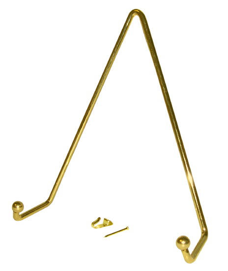 Large Plate Hanger [7 H x 6-1/4 W] $1.98 u0026 up  sc 1 st  National Artcraft & Plate Display Hangers Rigid Wire - National Artcraft