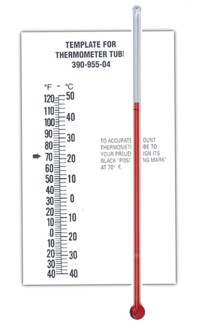Thermometers Tube Style National Artcraft