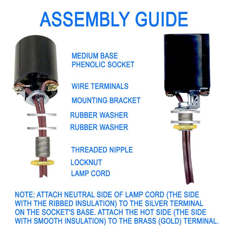 National Artcraft Lamp Making & Lighting Kits For Tall ... on
