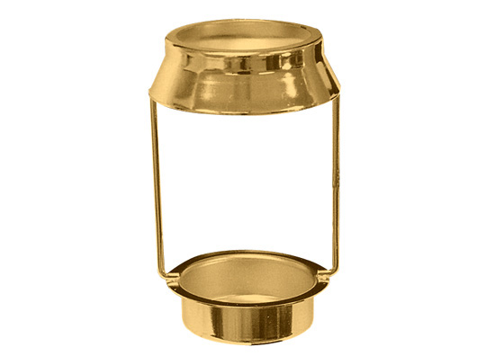 Candle lamp shade holder national artcraft candle lamp shade holder with candle cup bright brass finish 2 od shade top tapers to 2 12 od bottom 3 18h plus 58h bottom cup mozeypictures Image collections