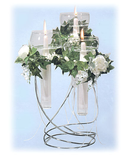 Tiered floating candle centerpiece national artcraft
