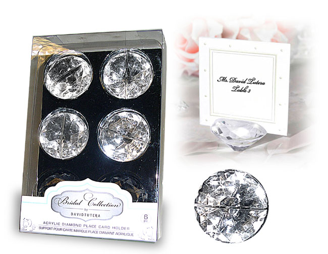 B) PLACE CARD HOLDER.
