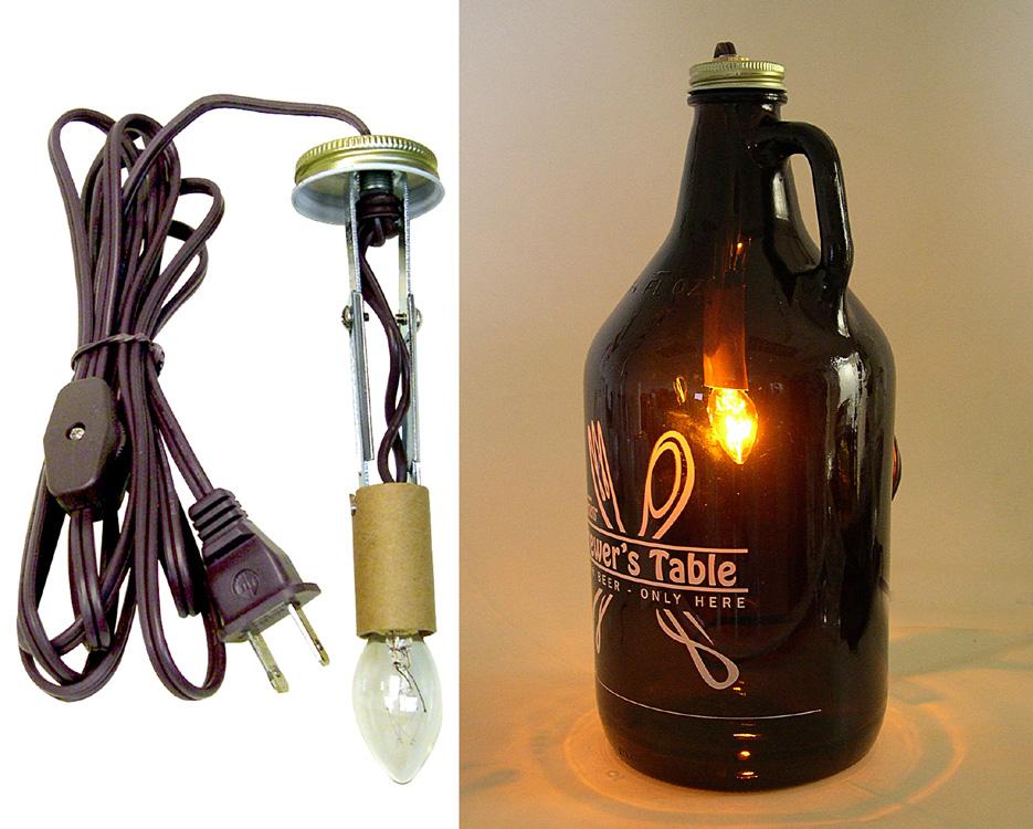 beer growler lamp making kits national artcraft